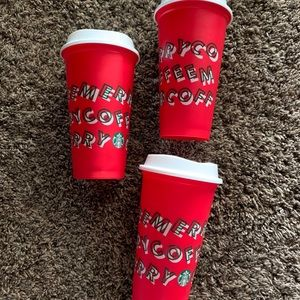Limited edition 2019 Sbux cups